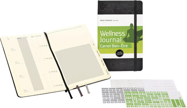 Hone in on your recipients passion and get her a journal that will feed her soul. Moleskine Passion Journals come in different themes including a Recipe Journal and a Wellness Journal. The compact books have six themed sections and room to create six more. Adhesive labels offer a creative way to further personalize the journey. The Wellness Journal, for example offers space to log goals, exercise, diet, general health, sports/games and even inspirations. The journal can offer your recipient the perfect way to kick off the coming new year. $19.99, The Container Store and select book stores.