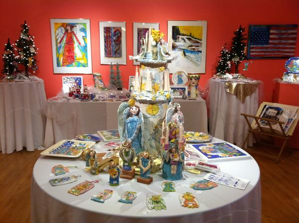 The annual Holiday Arts Bazaar at Croooked Tree Arts Center in Petoskey will feature the work of more then 65 area artisans.