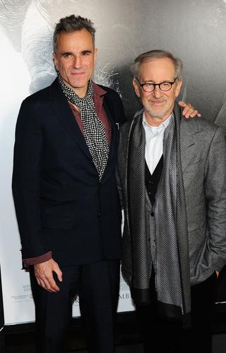 "Daniel Day-Lewis, left, stars in ""Lincoln,"" director Steven Spielberg's drama about the 16th president of the United States and his efforts to pass the 13th Amendment. <br><br><a href=""http://www.latimes.com/entertainment/movies/moviesnow/la-et-mn-lincoln-review-20121109,0,7581480.story""><b>REVIEW:</b>  Steven Spielberg's 'Lincoln' a towering achievement</a>"