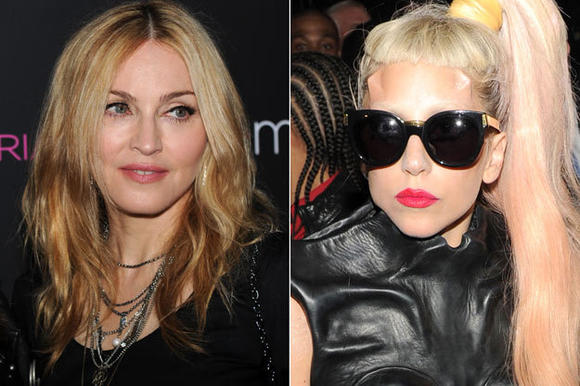 Gaga rejects Madonna