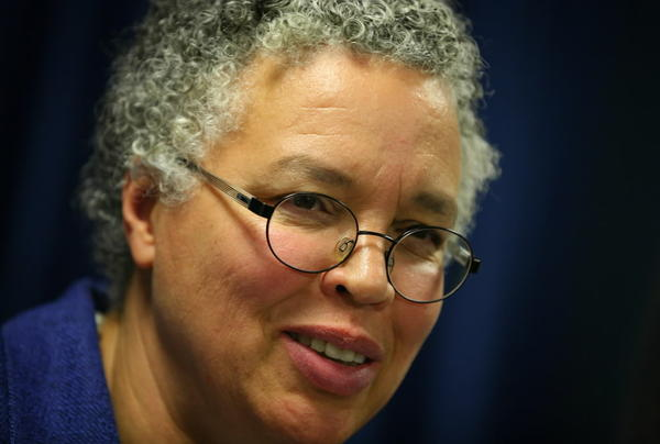 Cook County Board President Toni Preckwinkle, seen here last month, easily got her budget approved today.