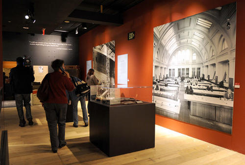 Titanic: The Artifact Exhibition runs from November 10, 2012 - April 7, 2012 at The Franklin Institute in Philadelphia.