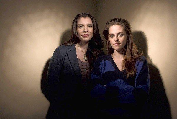 "Kristen Stewart, here with ""Twilight"" author Stephenie Meyer, is in high gear promoting ""The Twilight Saga: Breaking Dawn – Part 2."" But that doesn't mean she's blabbing uncharacteristically freely.  Stewart hit the ""Today"" show Wednesday for a sit-down with the gang, and after some chat about the film and especially her character Bella Swan's transition from human to vampire, she spoke publicly about her relationship with Robert Pattinson for the first time since the cheating scandal earlier this year.  <br><br> <strong>Full story:</strong> <a href=""http://www.latimes.com/entertainment/gossip/la-et-mg-kristen-stewart-today-show-robert-pattinson-20121107,0,2708027.story"">VIDEO: Kristen Stewart addresses Robert Pattinson relationship status</a> 