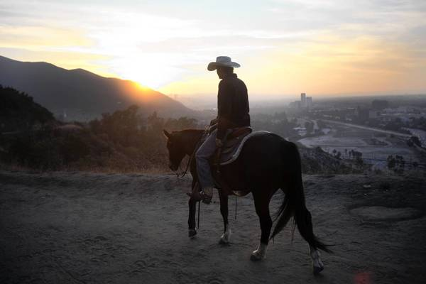 Horseback rides through Griffith Park are a great way to change a hectic L.A. pace.