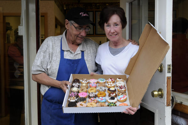 """I can't continue to fight the city,"" says Tony Mendes who together with his wife Susan has owned and operated Tastease Mini and Midi Donuts on New Park Ave. in Hartford for the past eight years. The couple plans to close its doors for good on June 30."