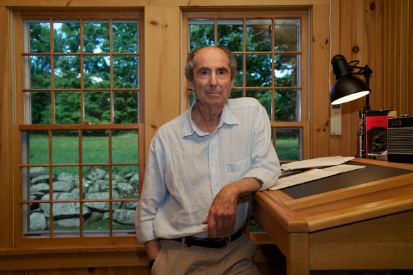 "Author Philip Roth after the publication of ""Nemesis."""