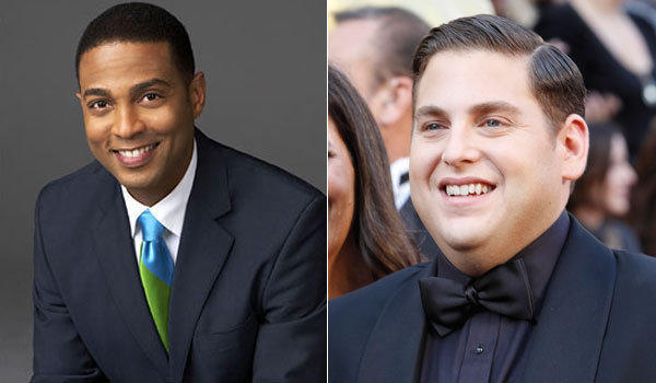 "Social media can foster odd friends and even odder enemies. Deadmau5 and Madonna recently got into it on Twitter. But the oddest Twitter fight pair in recent memory may be CNN anchor Don Lemon and Jonah Hill, star of ""21 Jump Street.""  The fight began Thursday night when Lemon took to his Twitter feed and announced, ""Said hi to @jonahhill in hotel. Think he thought i was bellman. Didn't know his name til bellman told me. A lesson to always be kind.""  According to several reports, Hill responded with a tweet that he has since deleted: ""@DonLemonCNN I said hi what do you want me to do move in with you? I was in a hurry. Didn't realize you were a 12 year old girl. Peace.""  <br><br> <strong>Full story:</strong> <a href=""http://www.latimes.com/entertainment/tv/showtracker/la-et-st-don-lemon-jonah-hill-twitter-fight-20121109,0,1910149.story"">CNN anchor Don Lemon in Twitter spat with Jonah Hill</a>"