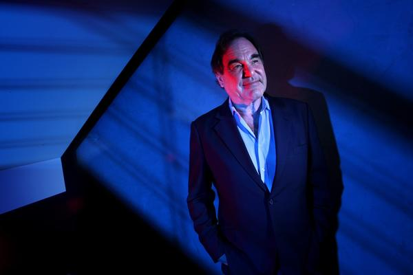 "Academy Award-winning director Oliver Stone's latest series of documentaries, ""Oliver Stone's Untold History of the United States,"" premiered Nov. 12 on Showtime. Stone was photographed at the Showtime offices in Westwood. The series is an alternative history of the U.S. from World War II to the present."