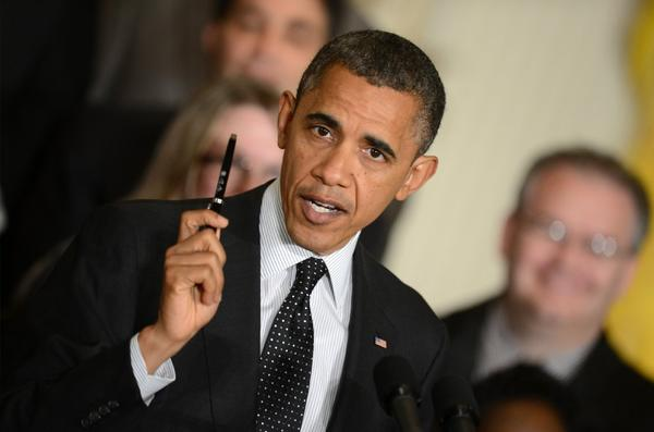 Waving a pen, President Obama says Friday that he's ready to sign a bill to extend the Bush-era tax cuts for individuals earning less than $200,000 or couples earning less than $250,000.