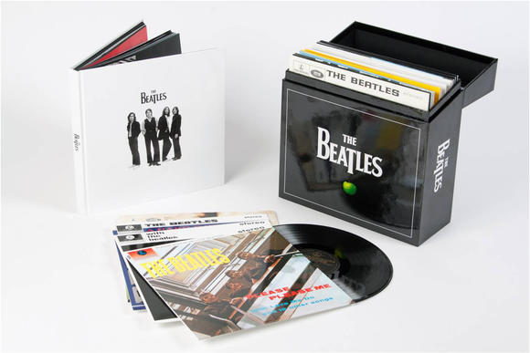 The Beatles catalog on vinyl