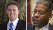 Patrick Murphy, left, declared winner over Allen West