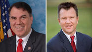 Alan Grayson, left, defeats Todd Long