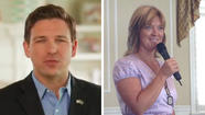 Ron DeSantis, left, defeats Heather Beaven