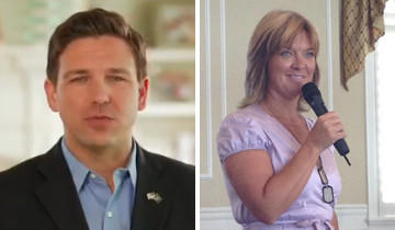 Ron DeSantis, Republican, a former Navy lawyer from Ponte Vedra Beach south of Jacksonville, worked as a prosecutor at the Guantanamo Bay detention center and defeated democrat Heather Beaven.