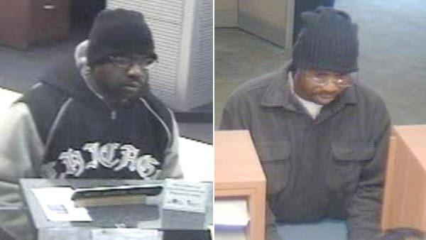 "Man dubbed the ""Stringer Bell"" bandit is suspected in 5 Loop bank robberies."