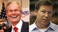 Democratic incumbent Bill Nelson, left, defeats Connie Mack