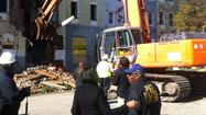 City begins demolition of Johnston Square properties