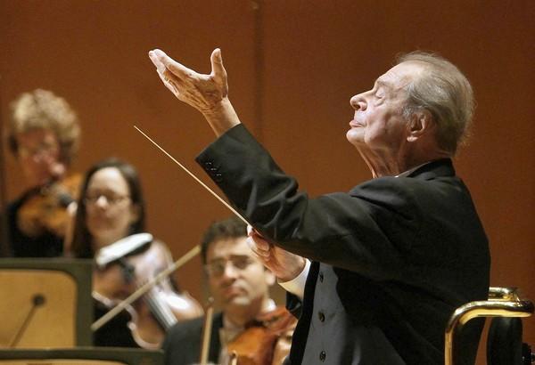 "Spanish conductor Rafael Fruhbeck de Burgos conducts the L.A. Phil and the Los Angeles Master Chorale in Manuel de Falla's opera, ""La Vida Breve"" (The Short Life)."