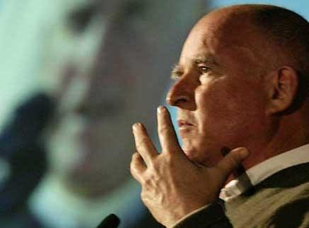 "Gov. Jerry Brown (D-Calif.) will be a guest on ""State of the Union With Candy Crowley"""