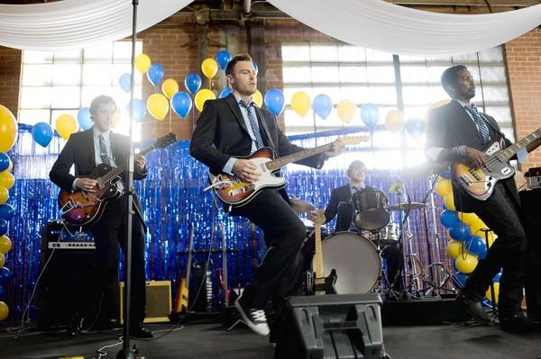 "Brian Austin Green, center, stars in ""The Wedding Band."""