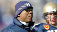 Navy offensive coordinator Ivin Jasper goes back to his roots, letting it rip