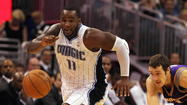 Jacque Vaughn has selected Jameer Nelson and Glen Davis as the Orlando Magic's captains for 2012-13.