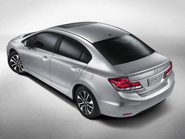 Honda has rushed this redesign of its Civic to market to answer criticism from consumers and the automotive media.