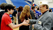 Boonsboro High School junior Etta Short said the Veterans Day ceremony that was held Friday in the school gymnasium was a fitting way to honor Americans for their military service.