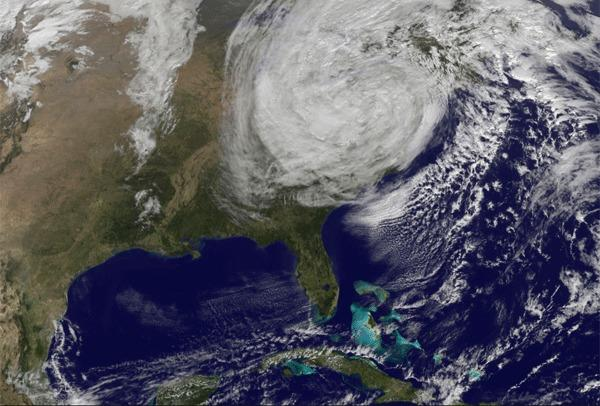 Superstorm Sandy could be the harbinger of future severe weather resulting from a warming climate.