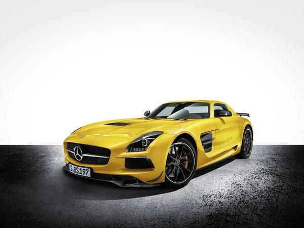 This Mercedes-Benz SLS AMG Black Series will be one of several cars from the company to debut at the 2012 L.A. Auto Show.