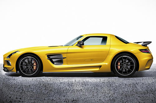 Because the extreme version of Mercedes-Benz's current supercar, the gullwing SLS AMG GT, clearly needs more power and less weight, the company announced Friday that it would be bringing to the 2012 L.A. Auto Show, you know, a faster model.