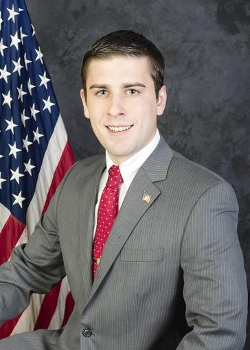 State Rep. Justin Simmons, R-131st District.