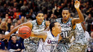 UConn Upsets Michigan State, 66-62