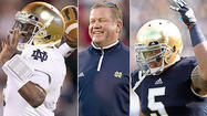 Notre Dame discounts past with Boston College