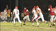 In Daleville, William Byrd and Lord Botetourt hooked up in a rematch of the regular season game won by Byrd in overtime, as the Terriers rallied from a big deficit. The Terriers also had their quarterback back tonight.  Zac Hill returned after missing three weeks with a dislocated elbow. Botetourt was back in the playoffs looking for its first postseason win since 1984.