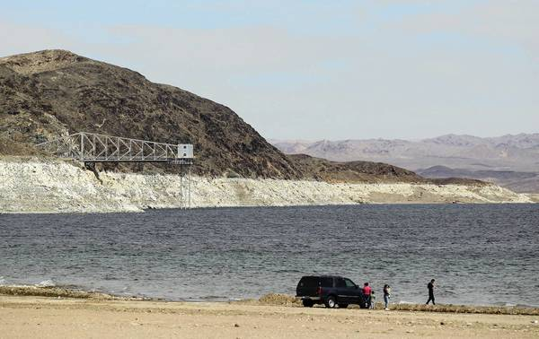 "Lake Mead's ""bathtub ring"" is stark visual evidence of the misuse of a precious resource."
