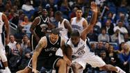 Orlando Magic versus Brooklyn Nets
