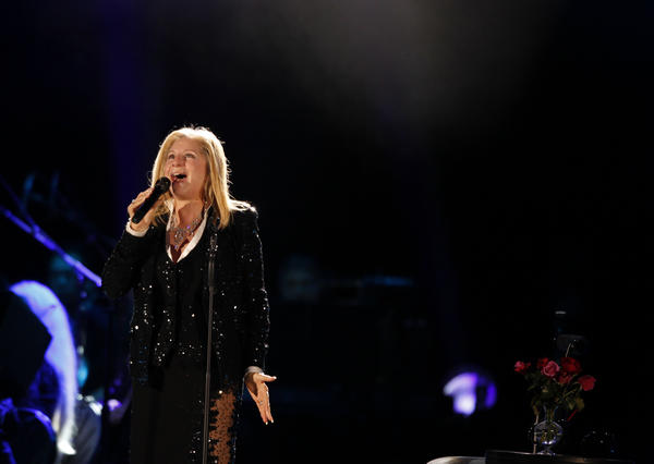 Barbra Streisand is one of the world's most recognized vocalists.