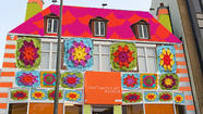 Yarn Bombing Los Angeles to cover craft museum in granny squares