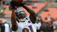 The Ravens scored two rushing touchdowns in last Sunday's 25-15 win against the Cleveland Browns. Bernard Pierce's 12-yard scamper with one second left in the first quarter gave the team a 14-0 lead, but it might have gone for naught if not for a timely block by Anquan Boldin.