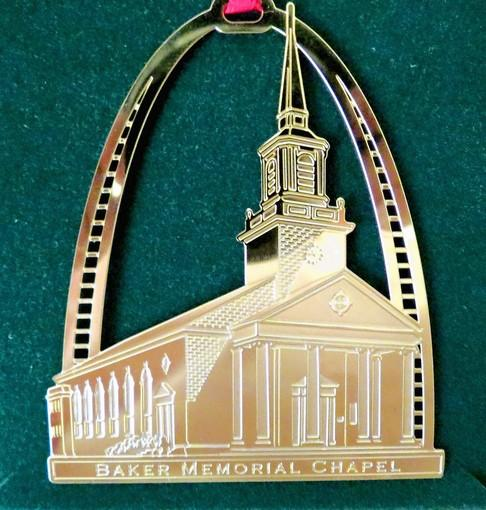 baker chapel ornament