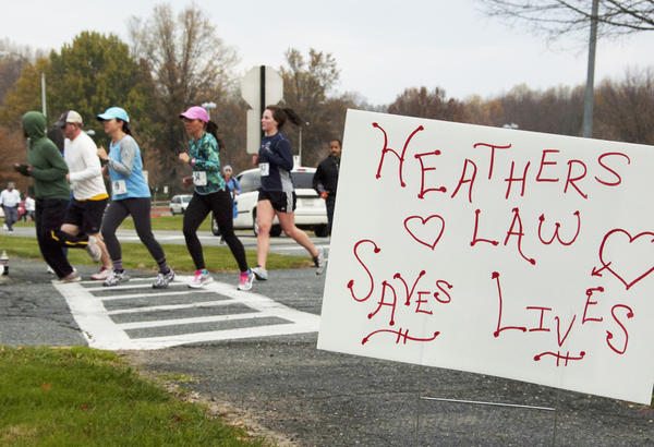 The fourth annual Heather L. Hurd 5K Run and 1 Mile Fun Walk took place Saturday at Harford Community College. A record 315 participants raised $15,000 for book scholarships and helped bring greater awareness to the dangers of distracted driving.