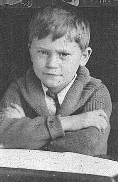 "William ""Bill"" Renner is shown in this photo taken in 1922, when he was in first grade."