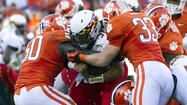 Terps can't keep up with Clemson in 45-10 loss