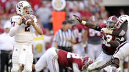 No. 1 Alabama loses 29-24 to No. 15 Texas A&M