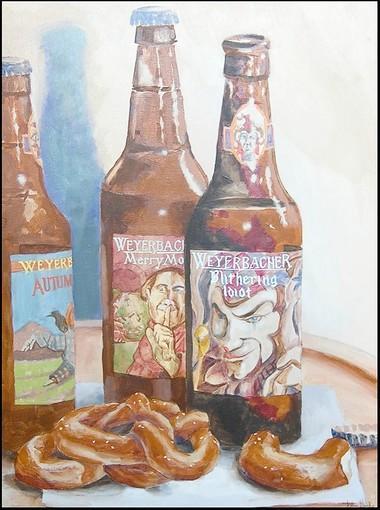 'Weyerbacher,' painted by local artist John Gaydos.