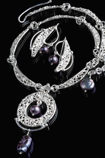 Silver jewelry by Svetlana Howells is part of the Hidden Treasures Studio Tour.