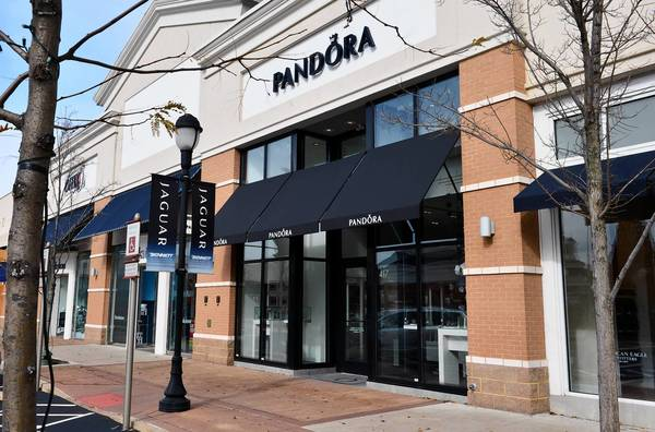 The Pandora store at The Promenade Shops at Saucon Valley. This is the first actually store devoted to only Pandora in the Lehigh Valley.