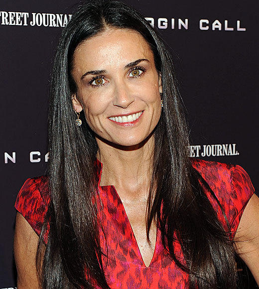 Celebrities turning 50 in 2012: Demi Moore, Nov. 11