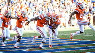 No. 6 Florida rallies for dramatic 27-20 win over Louisiana-Lafayette